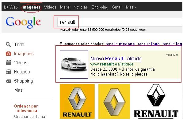 google image anuncio